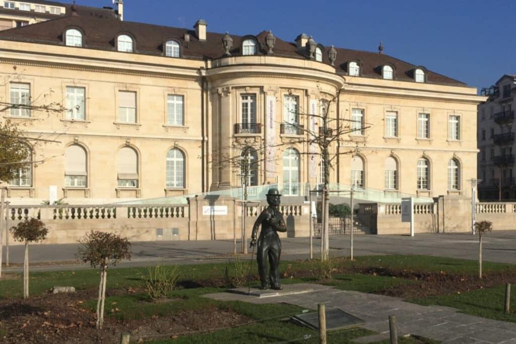 Statue von Charles Chaplin Montreux
