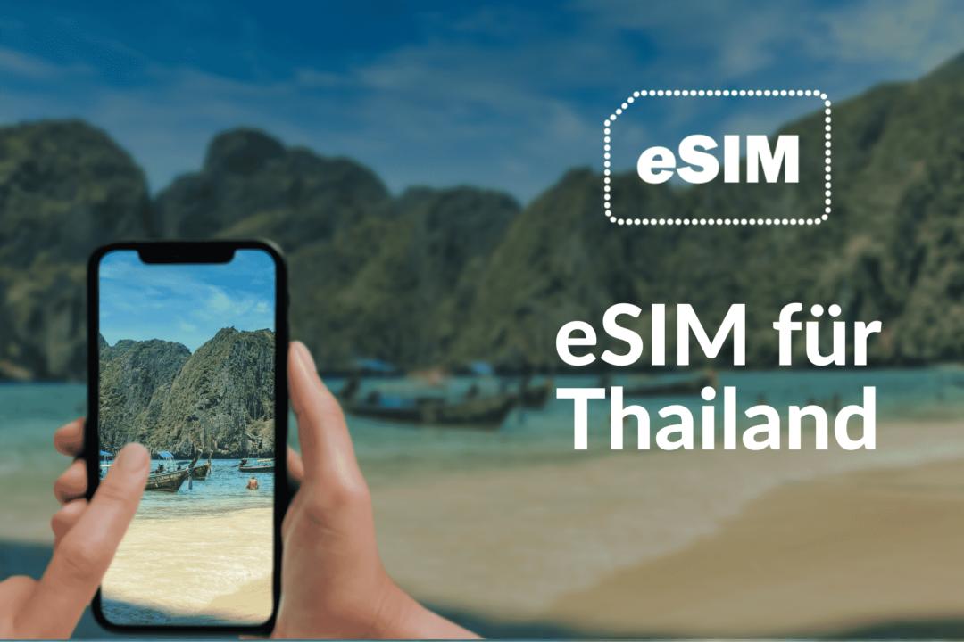 Die beste eSIM Thailand