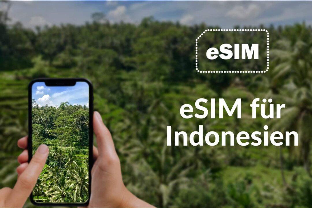 eSIM mit Internet für Indonesien