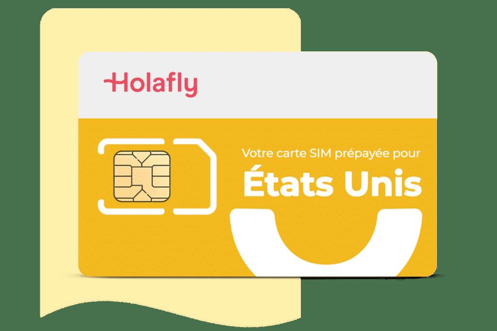 Carte SIM prépayée USA d´Holafly, carte sim etats unis