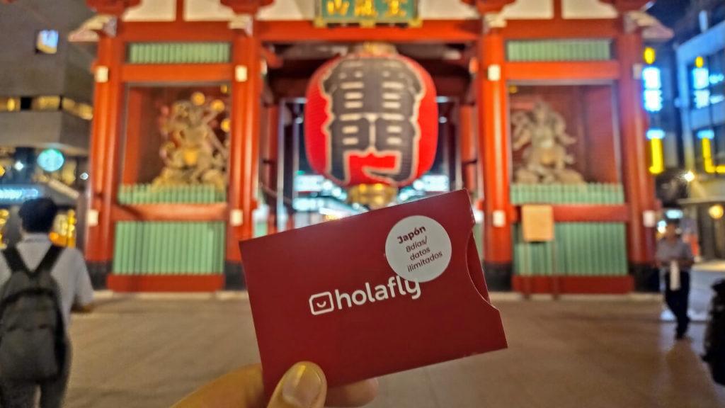 Temple Sensoji, Tokyo, Japon Carte SIM japonaise Holafly