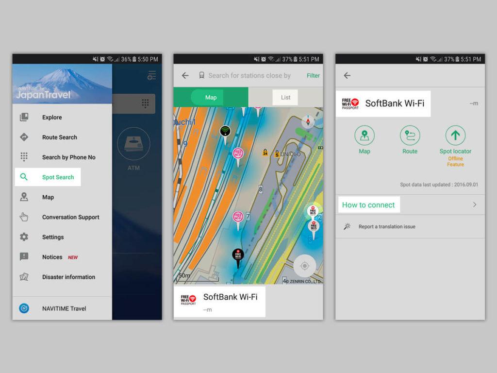 wifi japon - japan travel app
