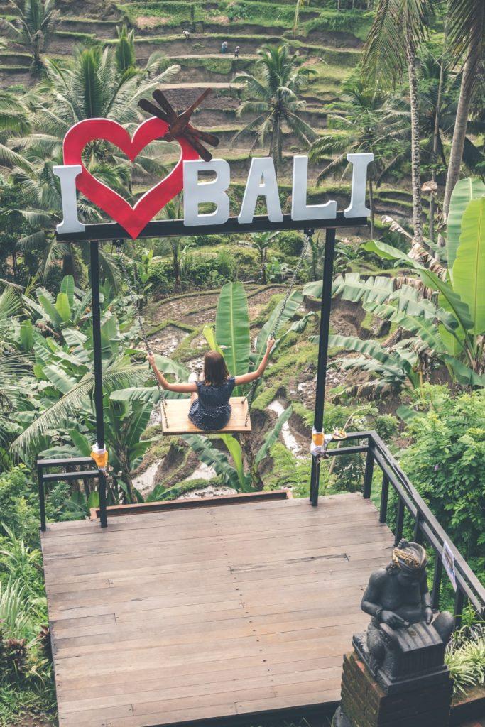 Swing, Bali, Indonésie