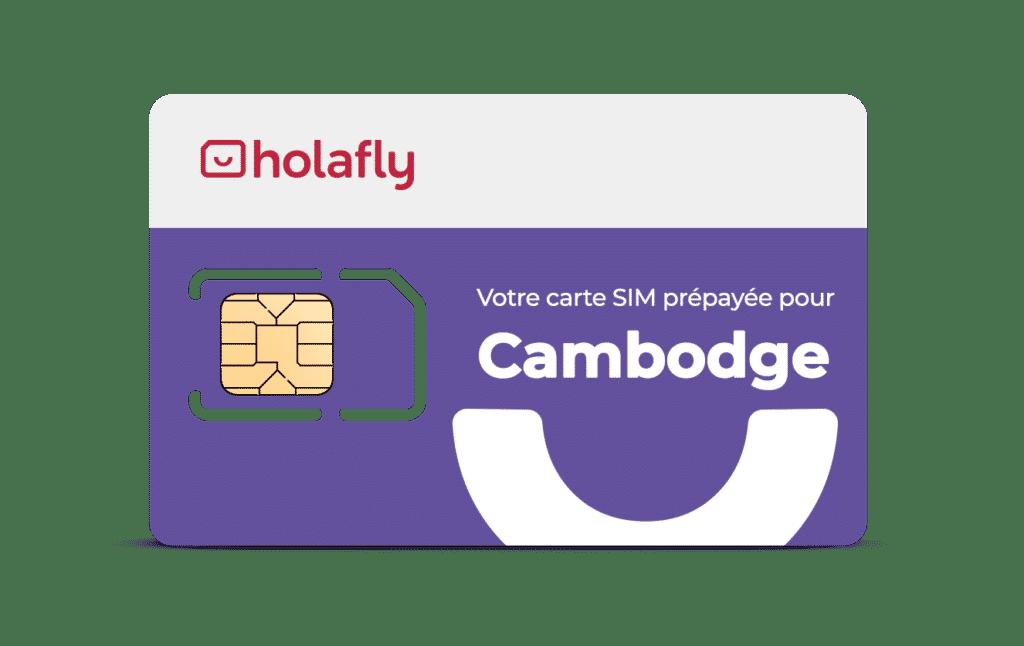 carte sim cambodge holafly