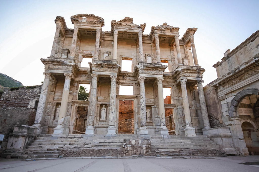 Voir et visiter Ephèse en Turquie