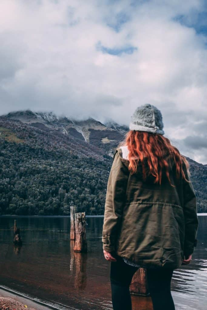 Lac Pichi Traful, Argentine.