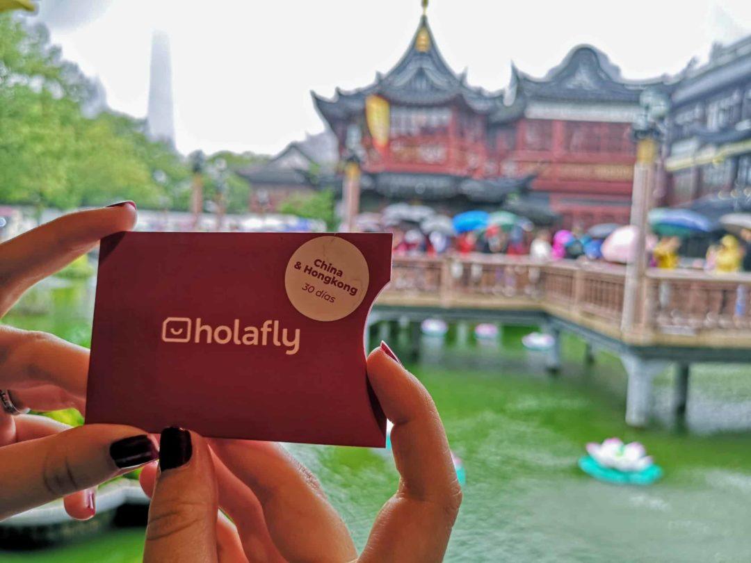 Holafly, une carte pour voyager en Chine.