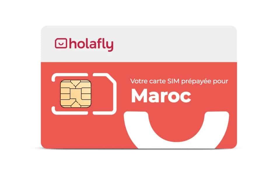 Carte SIM de données Maroc