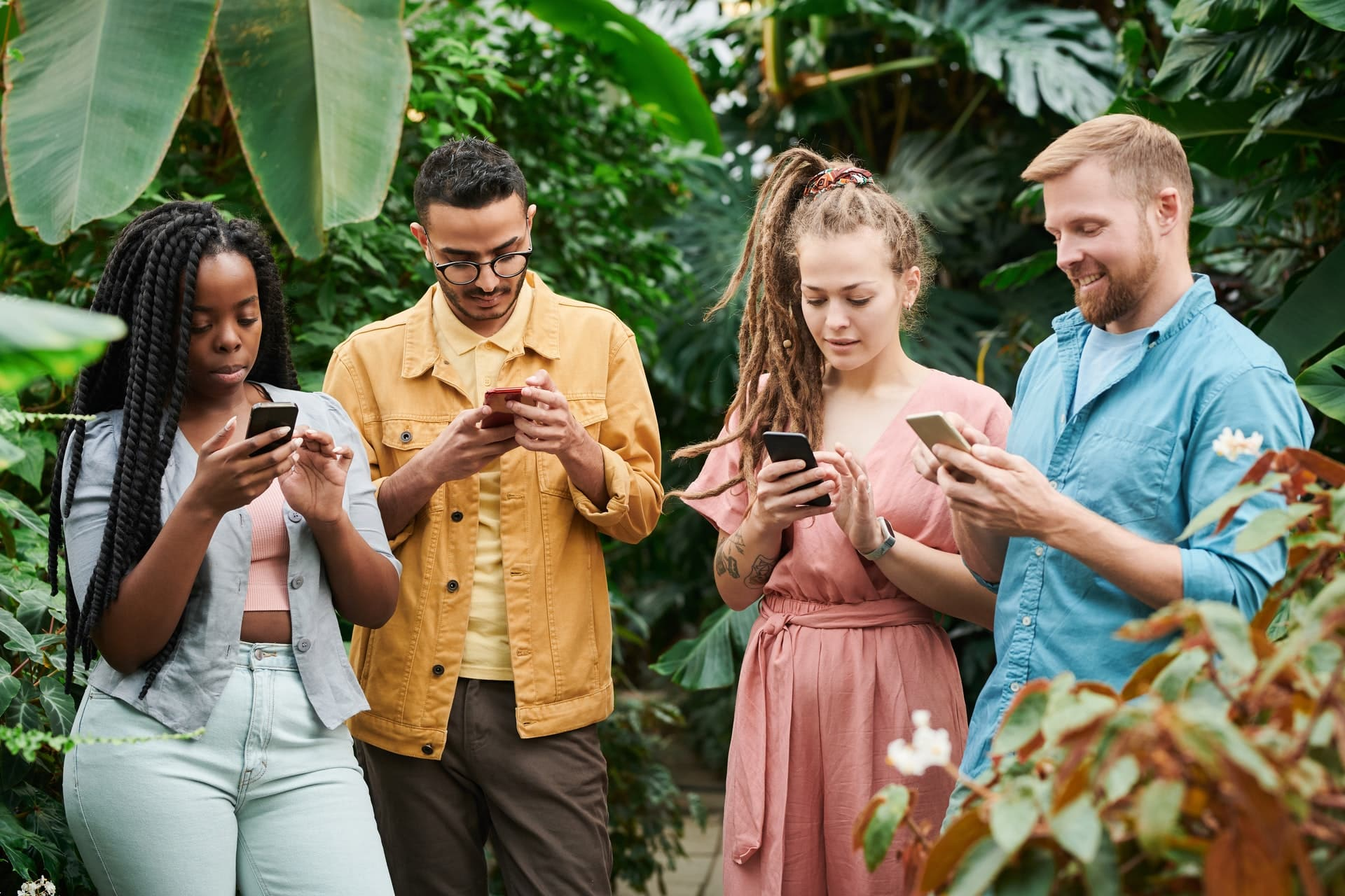 les personnes possédant une carte SIM pour l'Afrique du Sud sur leur téléphone portable