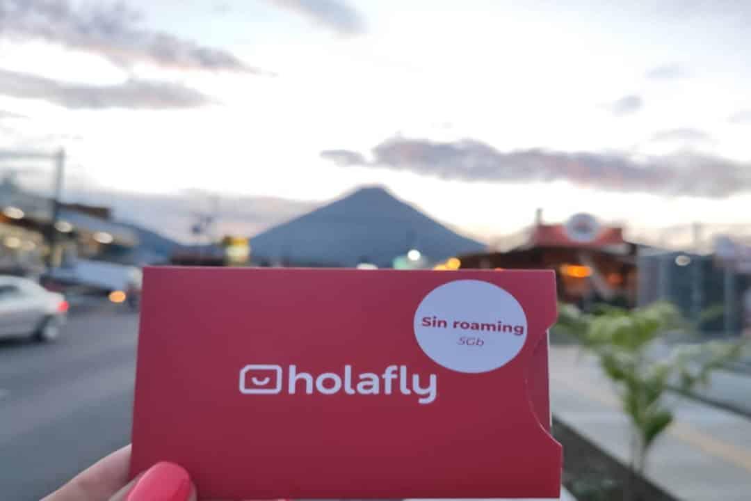 Carte SIM Holafly au Volcan Arenal au Costa Rica, laquelle acheter ?