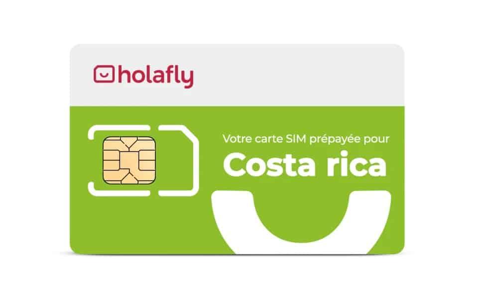 Carte SIM de données pour le Costa Rica de Holafly