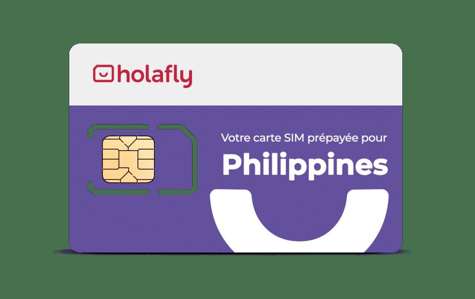 Carte SIM Holafly pour les Philippines