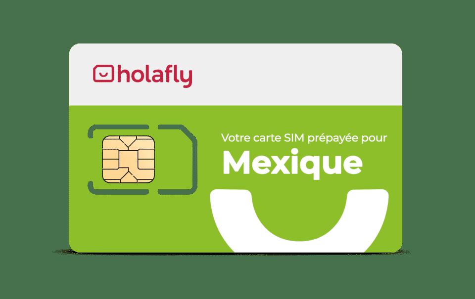 Carte sim de données Holafly Mexico