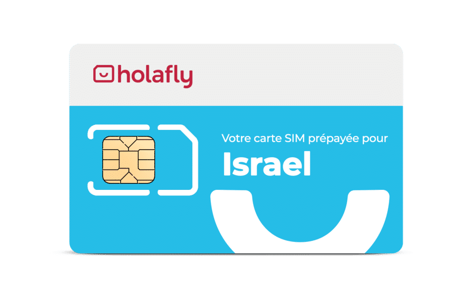 carte sim israel holafly