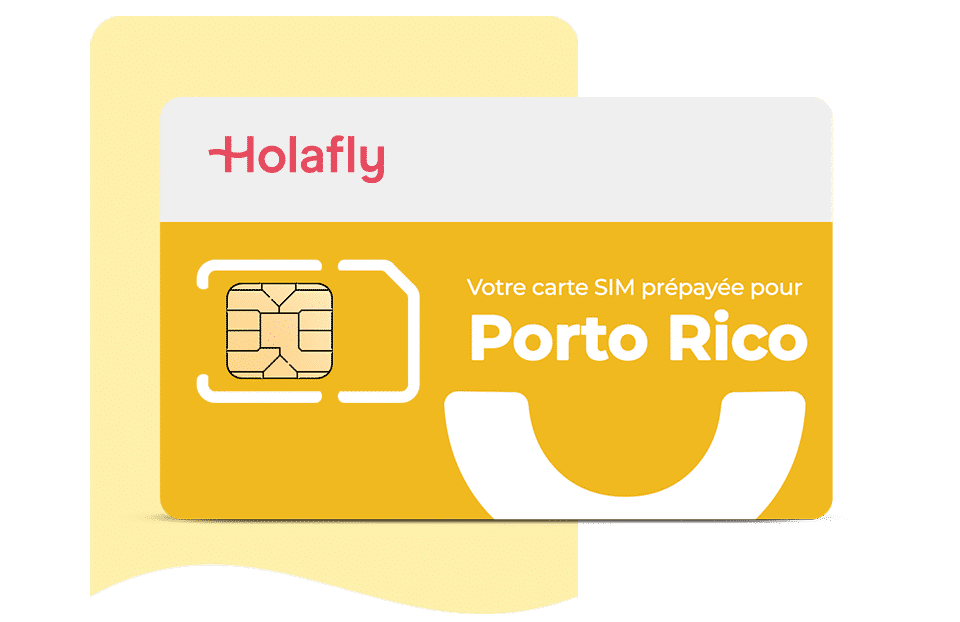 Carte SIM Holafly Porto Rico carte sim prépayée porte rico