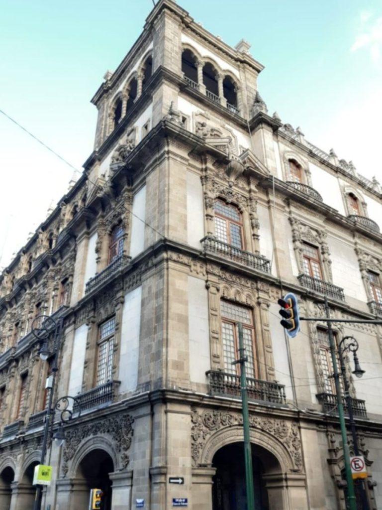 Bâtiment architectural à México, Mexique, que voir a mexico