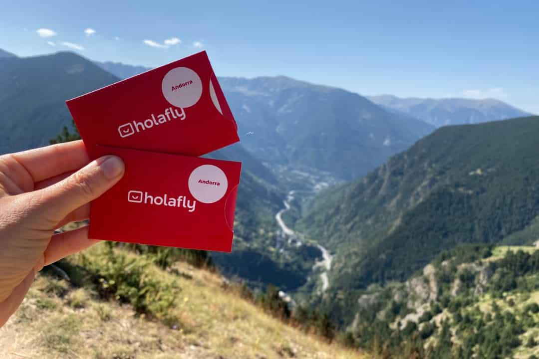 Carte SIM Andorre Holafly
