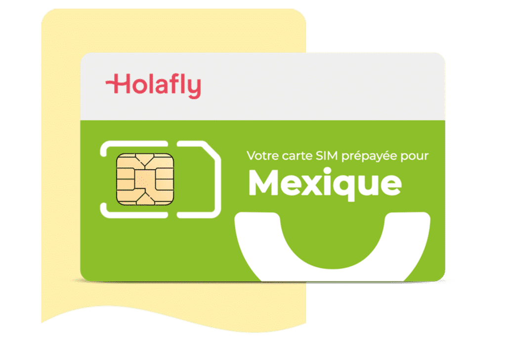 Carte SIM prépayée Mexique Holafly, monnaie mexique