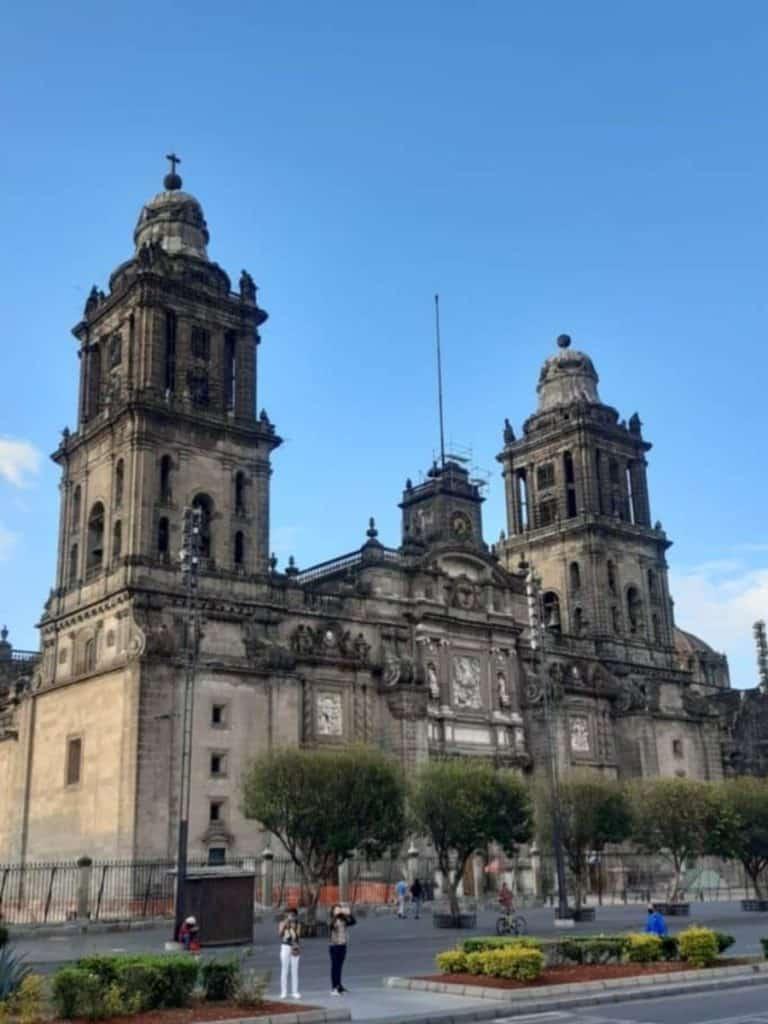 Cathédrale métropolitaine à México, Mexique, que voir a mexico