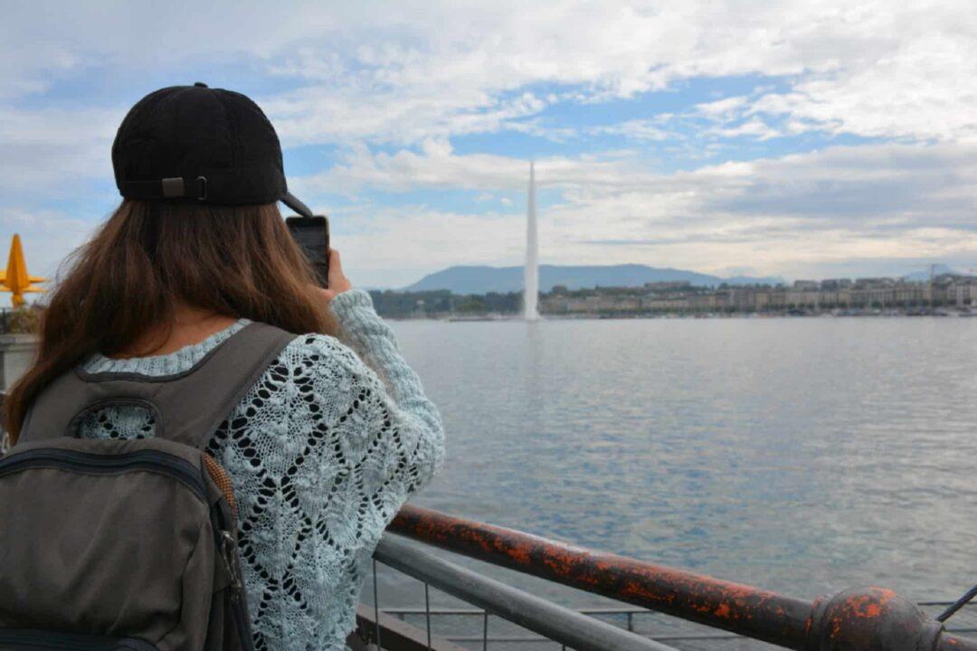 Blanca du blog Los Traveleros à Genève en Suisse
