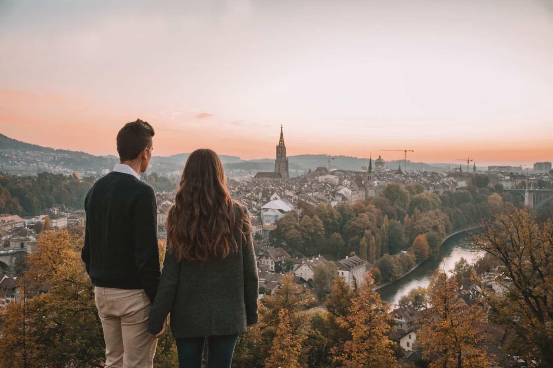 Los Traveleros dans la ville de Berne en Suisse