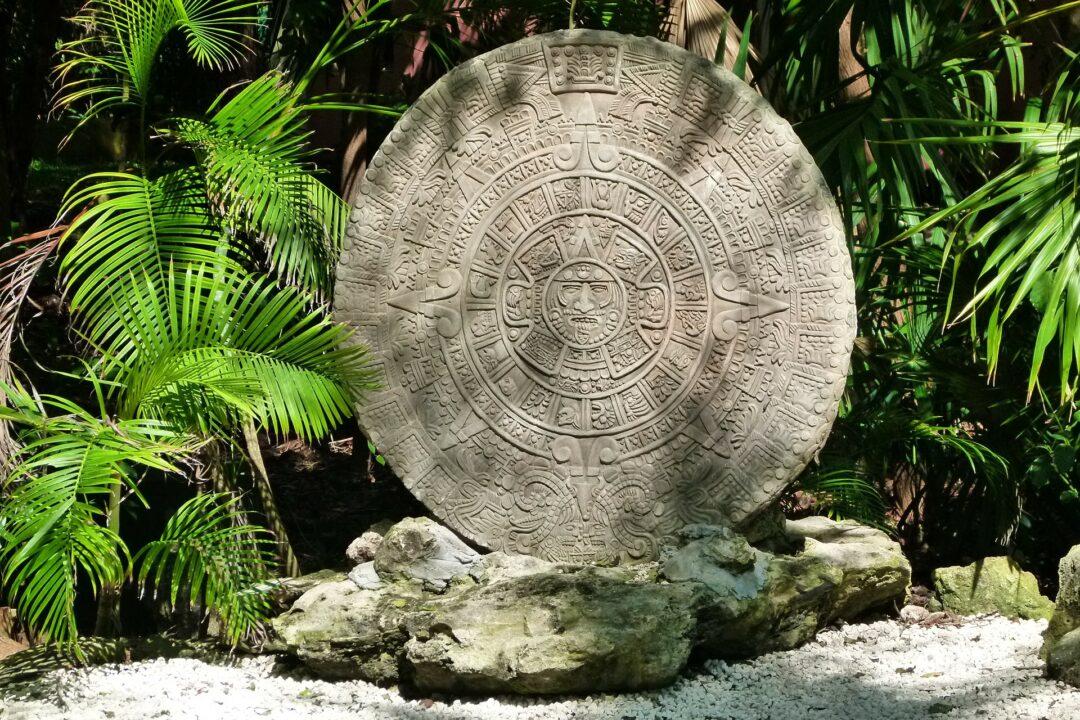 Le calendrier Aztèque, Mexique