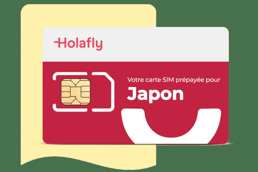 Carte SIM prépayée Japon d´Holafly