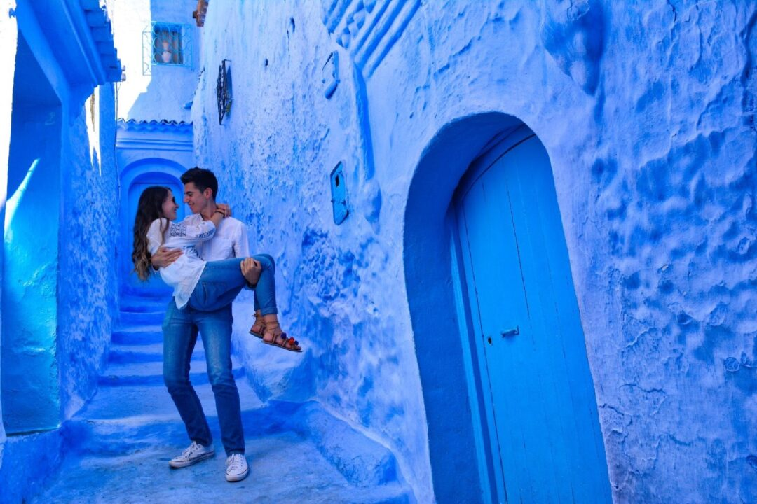 Chefchaouen, village bleu du Maroc, 2 jours