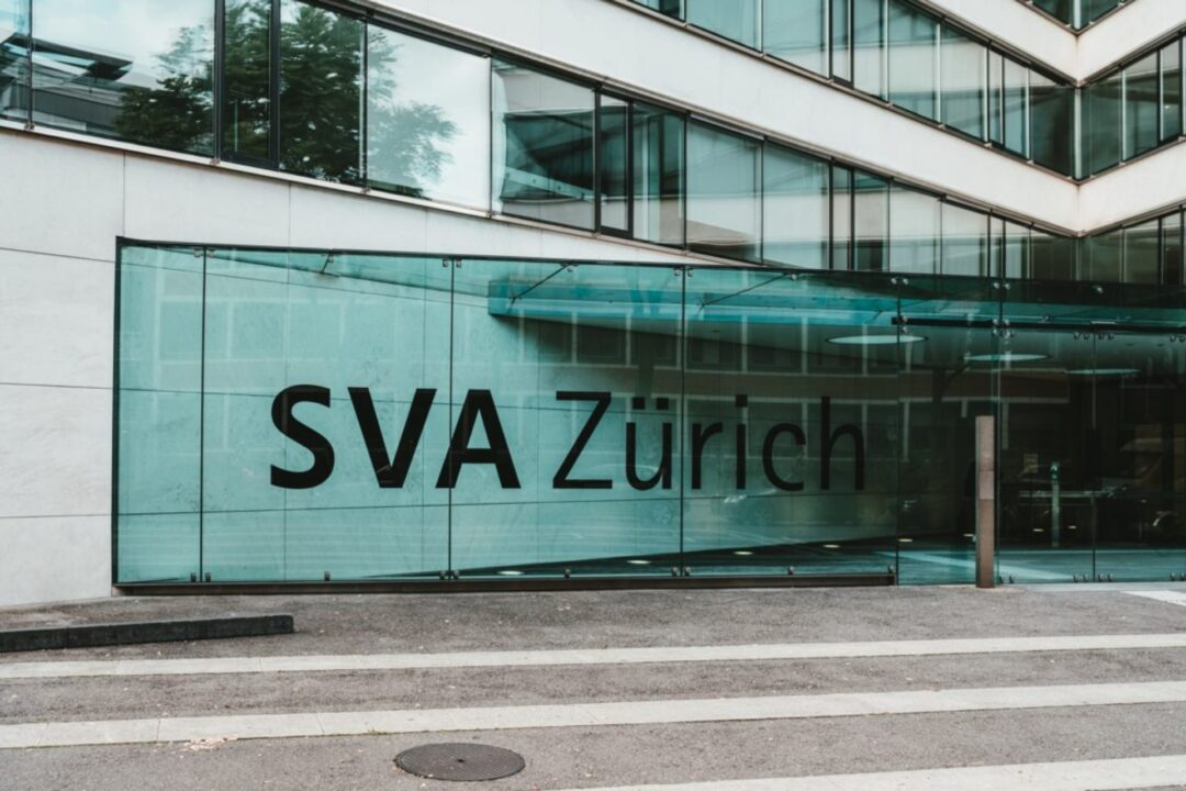bâtiment financier à Zurich en Suisse