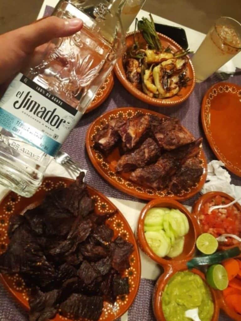 nourriture typique du mexique et tequila, que voir a guadalajara