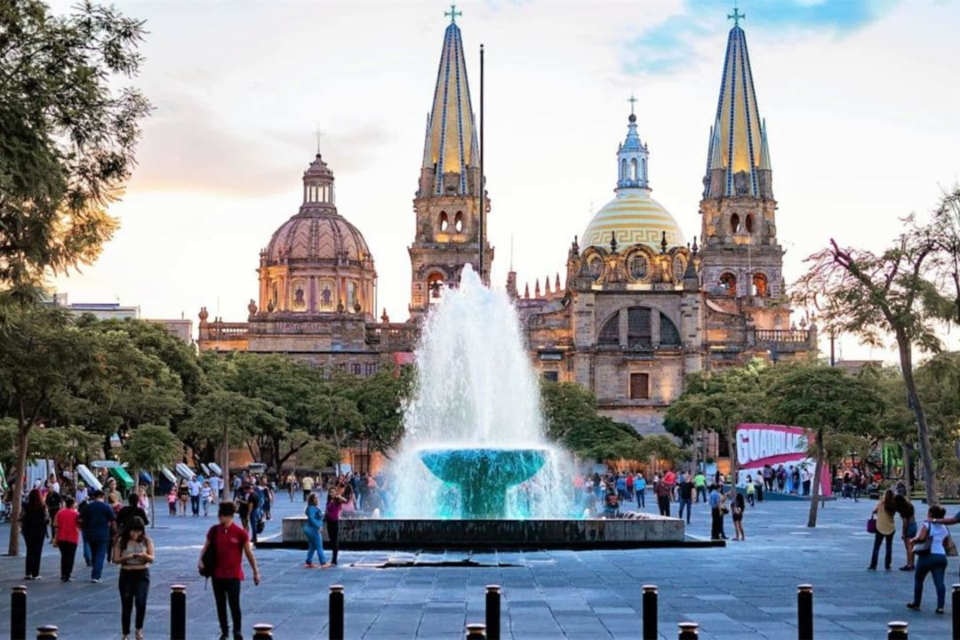 Place de la Libération à Guadalajara Mexique