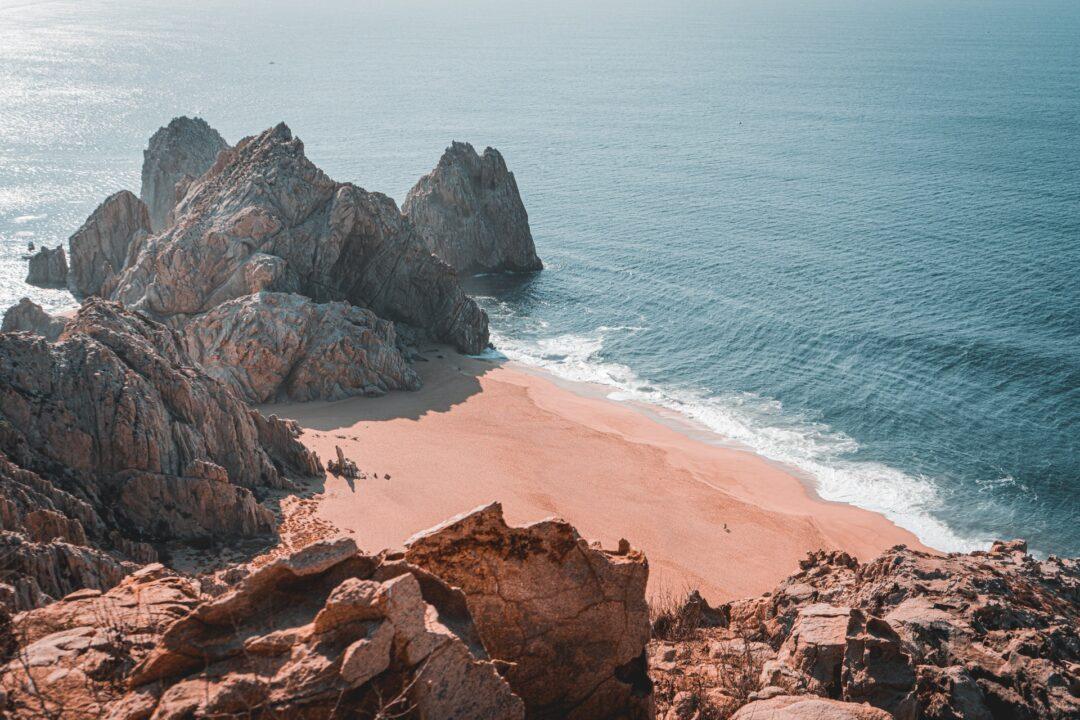 plage cabo sanlucas mexique